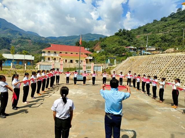 Hội đồng Đội Huyện tập huấn kỹ năng cho đội ngũ Chỉ huy đội và phụ trách sao Nhi đồng của các Liên đội